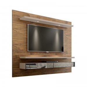 Painel Tacco 220cm Tv 65'' LED/Espelho Nobre/Fendi