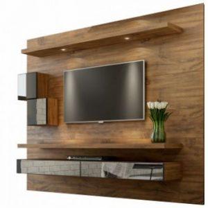 Painel Tacco 220cm Tv 65'' LED/Espelho/Nicho Nobre