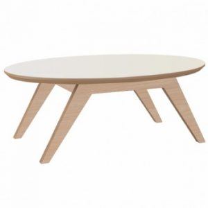Mesa de Centro Adie 120cm Natural/Off White